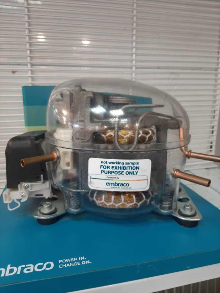 Замена мотор-компрессора