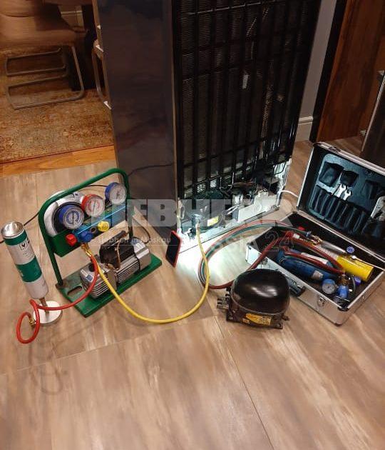 Замена мотор-компрессора в холодильниках и морозильных камерах Либхер